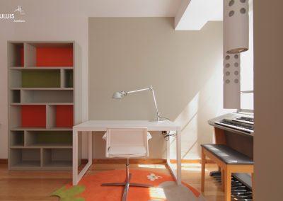 Dormitorio juvenil Flou &  Foscarini
